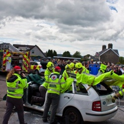 Rrrrallye - Road Safety event in Keith, Morayshire