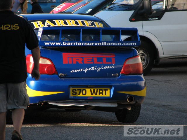 Car# 1 - Model: Subaru Impreza