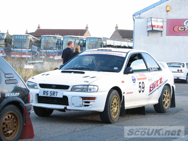 Car# 59 - Model: Subaru Impreza